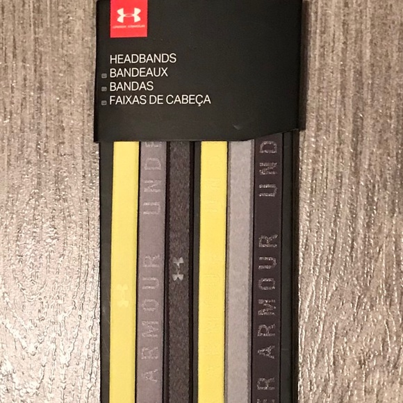 Under Armour Accessories - Under armour 6 pack of headbands